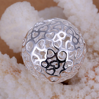 925 sterling silver jewelry fahion necklace pendant tree of life silver ball pendant