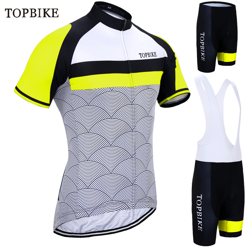 TOPBIKE Summer Short Sleeve Cycling Set Mountain Bike dress Clothing  Breathable Bicycle Jerseys Clothes Maillot Ropa a20c7cbbf