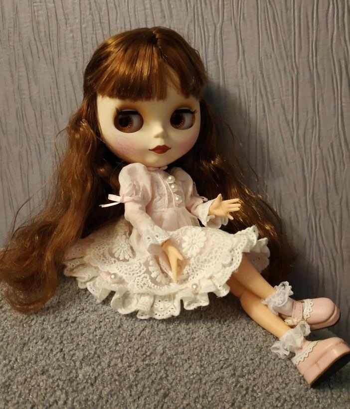 Angela – Premium Custom Blythe Doll with Cute Face 2