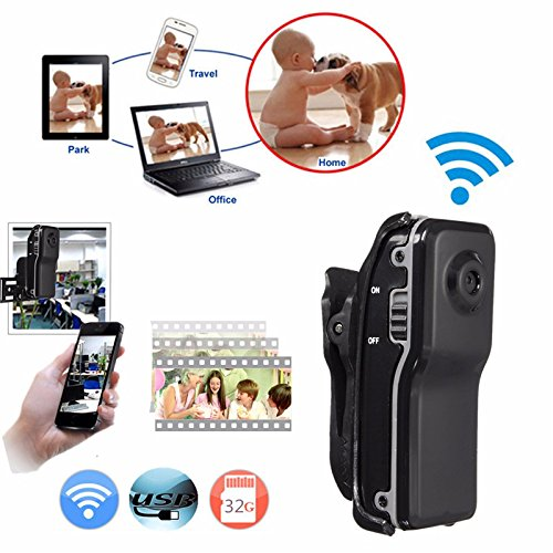 Smallest Camera Wifi IP P2P Wireless Mini Camera Secret Recording CCTV Android iOS Camcorder Video Espia Nanny Camera in Surveillance Cameras from Security Protection
