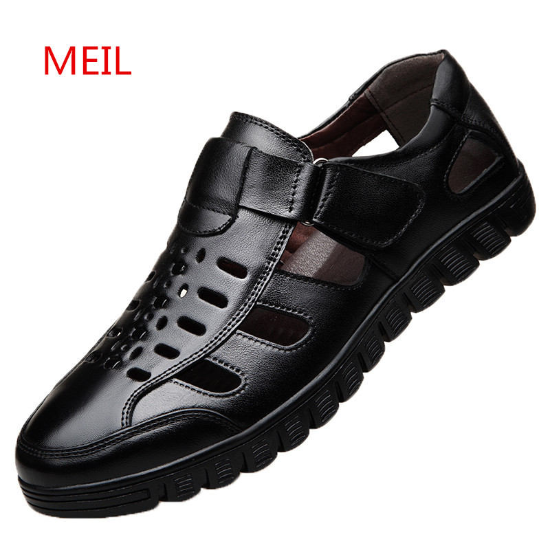 Summer Dress Genuine Leather Shoes Men Business Casual Shoes Fashion Italian Mens Leather Formal Office Shoes for Men Loafers in Formal Shoes from Shoes