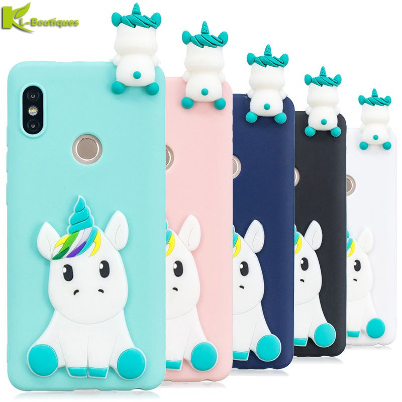 Methodical For Xiaomi Redmi Note 5 Case On For Xiomi Xiaomi Redmi Note 5 Pro Fundas 3d Cartoon Unicorn Soft Tpu Silicone Phone Cases Coque Fitted Cases