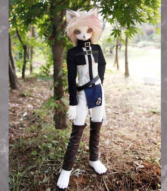 HeHeBJD Oskar Creature Claw  1/4 resin bjd body model reborn free shipping 1