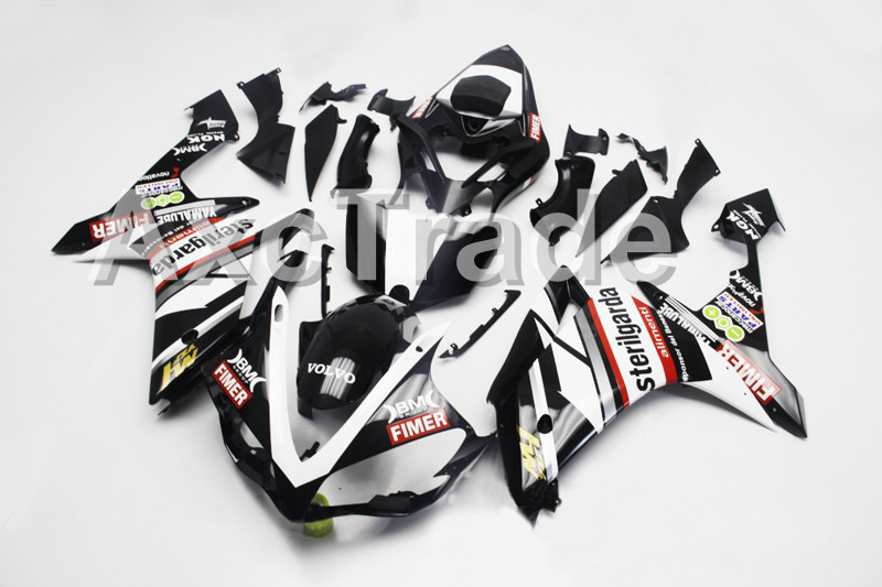 Motorcycle Fairings Fit For Yamaha YZF R1 YZF 1000 YZF-R1000 YZF1000 2007 2008 07 08 ABS Injection Fairing Bodywork Kit A0803 motorcycle fairings fit for yamaha yzf r1 yzf 1000 yzf r1000 yzf1000 2007 2008 07 08 abs injection fairing bodywork kit black 10
