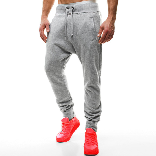 Pantalones de chándal lisos deportivos para hombre INCERUN 2018 moda Joggers  pantalones para hombre Hip Hop afadc696411
