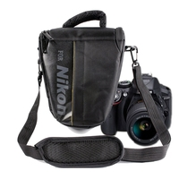 SLR Camera Bag Camera Strap Shoulder Bag Waterproof Photography Bag Case For Nikon D90 D7000 D5600