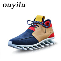 2018 ouyilu Outdoor jogging Men Running Shoes Sport Shoes For Women Men Sneakers running shoes for men Comfortably breathable