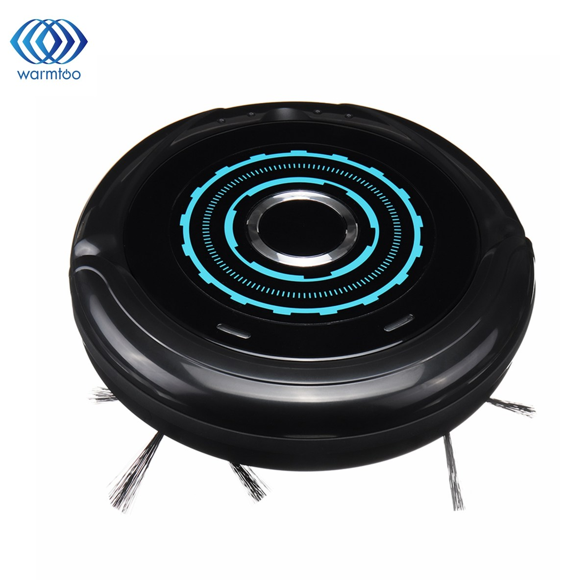 Home 3 in 1 Suction/Sweep/Mop Automatic Smart Vacuum Cleaner with Brush Floor Cleaning Sweeper Household Cleaning Black swdk wipe mopping machine sweep floor robot home fully automatic wireless intelligent electric mop vacuum cleaner free shipping