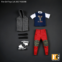 1/6 סולם אביזרי אש ילדה גבר צעצועי FG039 מגניב מצלמת בגדי חליפת B עבור 12 אינץ Tbleague Verycool Hottoys פעולה דמות גוף