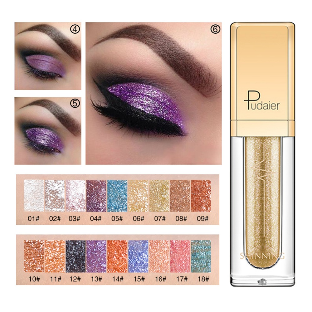 Sunny Manooby Shiny Diamond Liquid Water Eye Shadow Pearlescent High Gloss Powder Long-lasting Shine Eye Shadow Liquid Cosmetics Buy One Give One Beauty Essentials