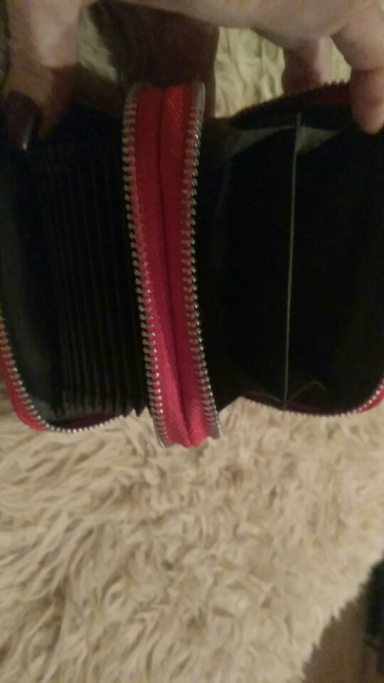 KEVIN YUN Modemerk Lederen Vrouwen Kaarthouder Dubbele Rits Grote Capaciteit Vrouwelijke ID Creditcard Case Tas Portemonnee photo review