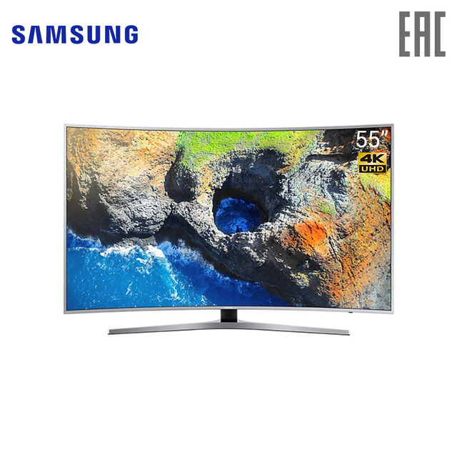 "LED TV 55 ""Samsung UE55MU6500UXRU(Russian Federation)"