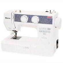 Швейная машина Minerva Denim14 (14 швейных операций, мощность - 85 Вт, длина стежка - 4 мм, ширина стежка - 5 мм, Работа двойной иглой, Подсветка рабочей поверхности, Реверс)