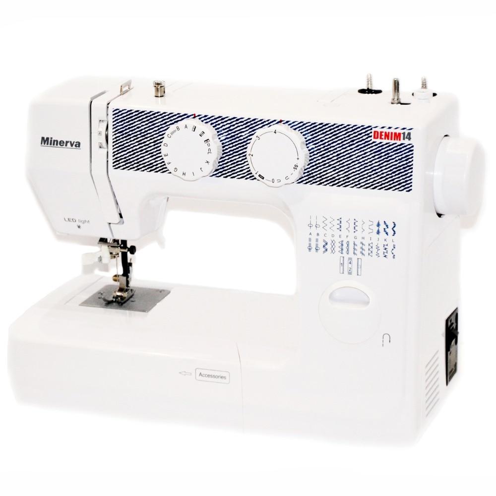 Sewing machine Minerva Denim14