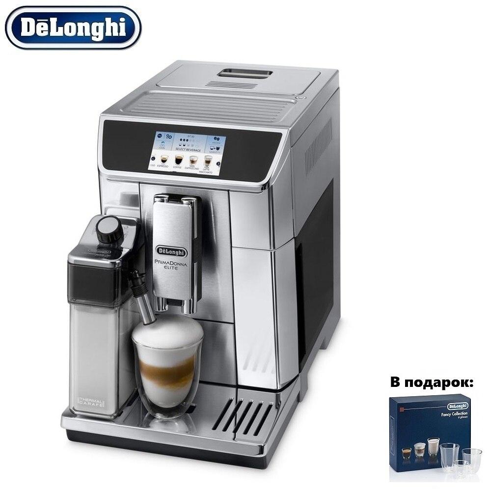 Coffee Machine DeLonghi ECAM 650.75 MS kitchen automatic Coffee machines automatic Coffee Maker cappuccino Kapuchinator automat кофе машина delonghi ecam 650 75 ms