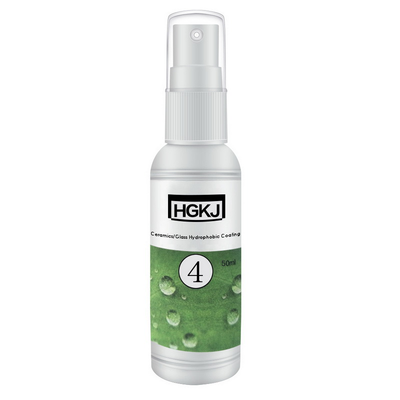 HGKJ-4-50ml Ceramic/Glass Nano Hydrophobic Coating Rainproof Agent-1 Bottle