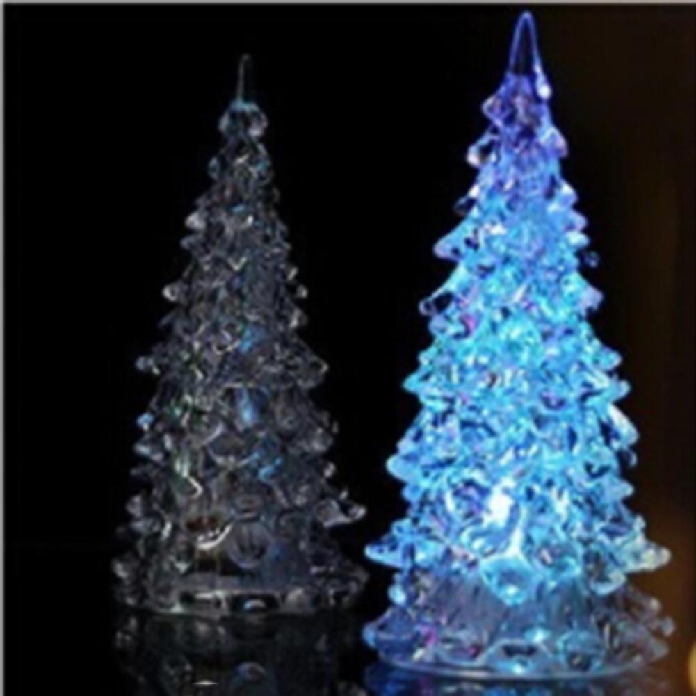 Lighting Of Christmas Tree 2014: 1pc Luminous Fairy Color LED Night Light Lamp Christmas