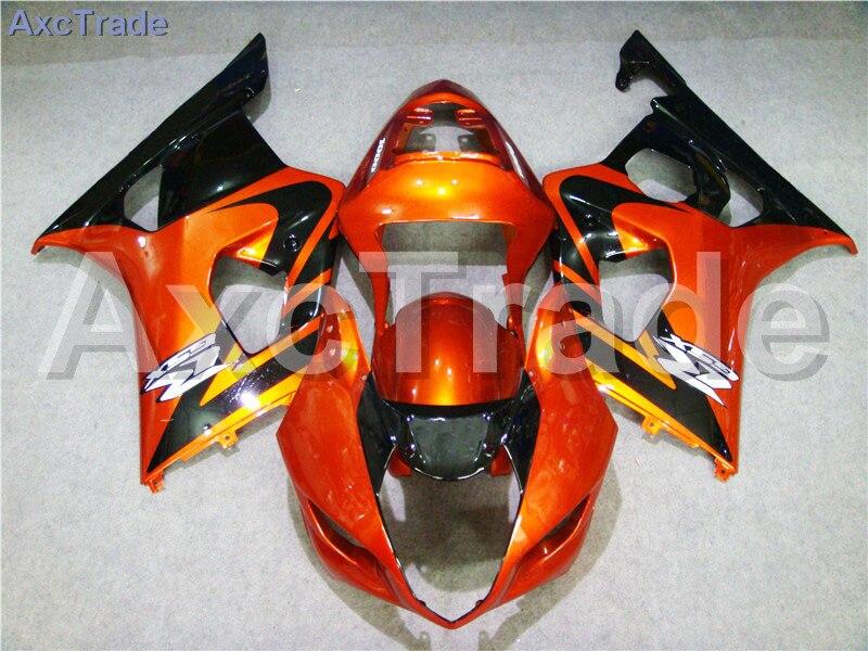 Мотоцикл Обтекатели для Suzuki GSXR системы GSX-Р 1000 К3 GSXR1000 2003 2004 03 04 ABS пластичная впрыска Обтекателя кузова комплект оранжевый