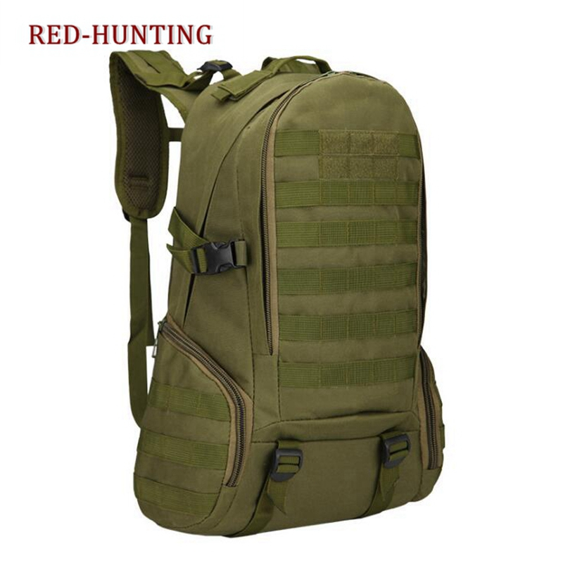 Molle Tactical <font><b>Backpack</b></font> Military Army Mochila <font><b>35L</b></font> Waterproof Hiking Hunting <font><b>Backpack</b></font> Tourist Rucksack Sports Bag image