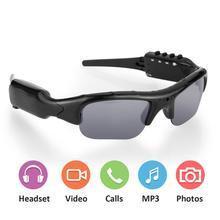 Солнцезащитные очки с камерой цифровой видеорегистратор камера DV DVR рекордер поддержка TF карта для спортивное Вождение на открытом воздухе очки камера