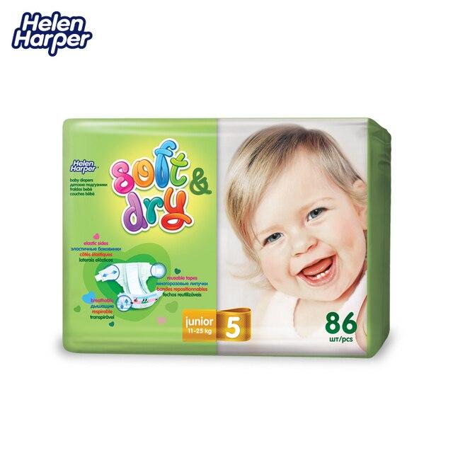 HELEN HARPER Детские подгузники Soft & Dry junior 11-25кг. (86 шт.)