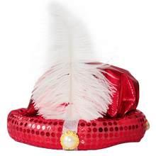 Niños y Adultos Halloween Party Cosplay sombrero accesorios del  funcionamiento de la etapa (rojo) 277742bde68