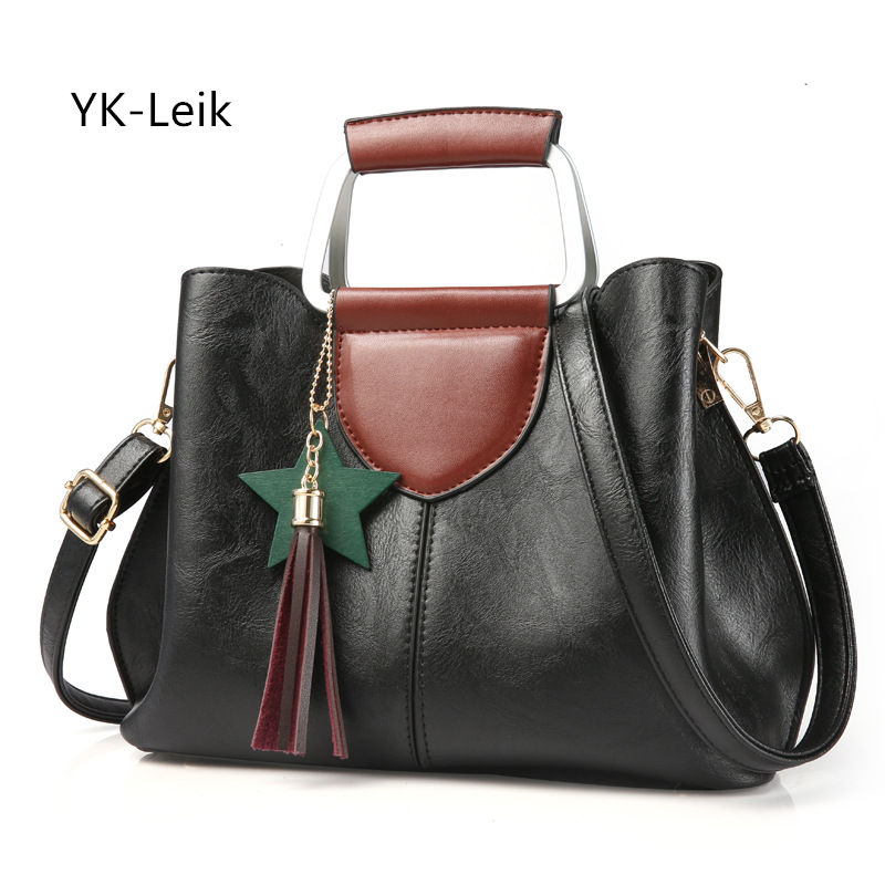 2017 autumn winter Fashion women luxury handbags High quality PU leather casual Tote bag handbag Shoulder