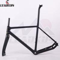 LEADXUS TXR01 Carbon Fiber Cyclocross Bicycle Frame Carbon Cycle Cross Racing Bike Frame Fork Seat Post Headset Size 51/53/55cm