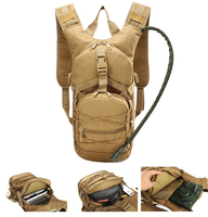 Airsoft Tactical Hydration Pack Sports Runner Hydration Backpack with 3L Bladder
