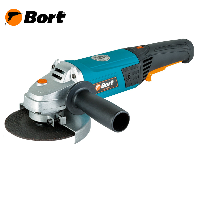 Angle grinder BORT BWS-1000X-125 kalibr mshu 125 955 electric angle grinder polisher machine hand wheel grinder tool