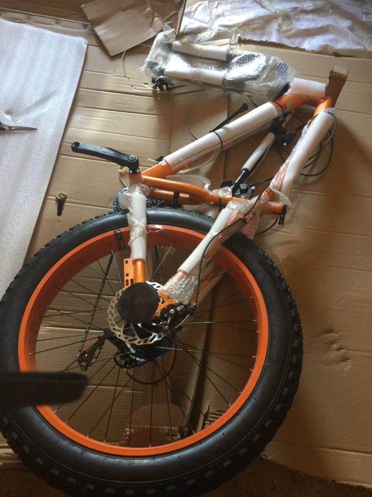 Bicicleta Freios Kubeen Chegada
