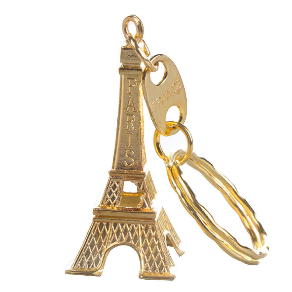 Retro Cổ Điển Tháp Eiffel Quà Lưu Niệm Keychain Paris Tour Chians Chính Vòng Chìa Khóa Cổ Điển Chủ Quà Tặng Trang Trí Lạnh/Đồng/bạc
