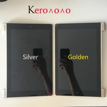 For Lenovo Yoga 10 B8080 B8080 F B8080 H LCD Display Panel Touch Screen Digitizer Glass Assembly With Frame Replacement Part