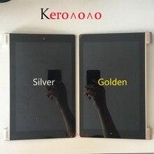 Para lenovo yoga 10 b8080 B8080 F B8080 H display lcd painel de toque digitador da tela vidro assembléia com quadro substituição parte