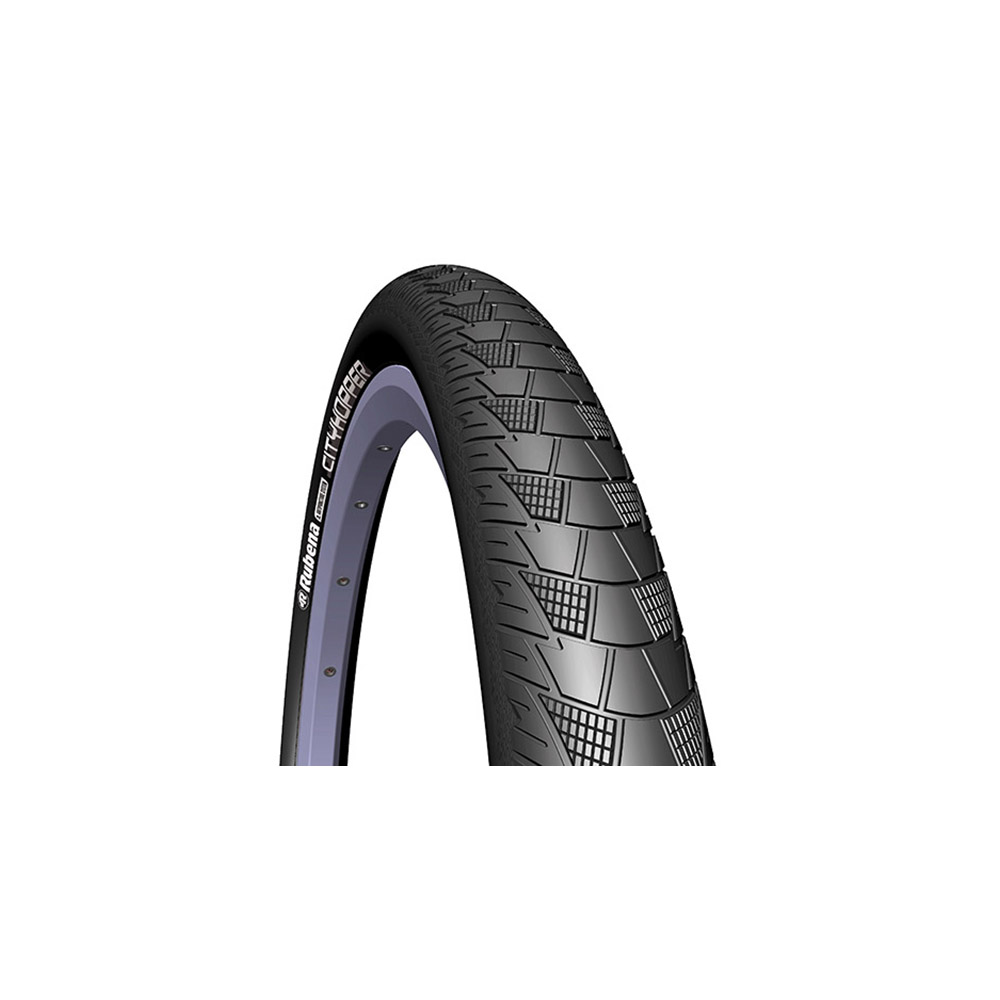 Tyre Mitas CITYHOPPER Classic 28 * 2.00 ANTIPUNCTURE (APS) 1 mm + REFLEX (RS) black