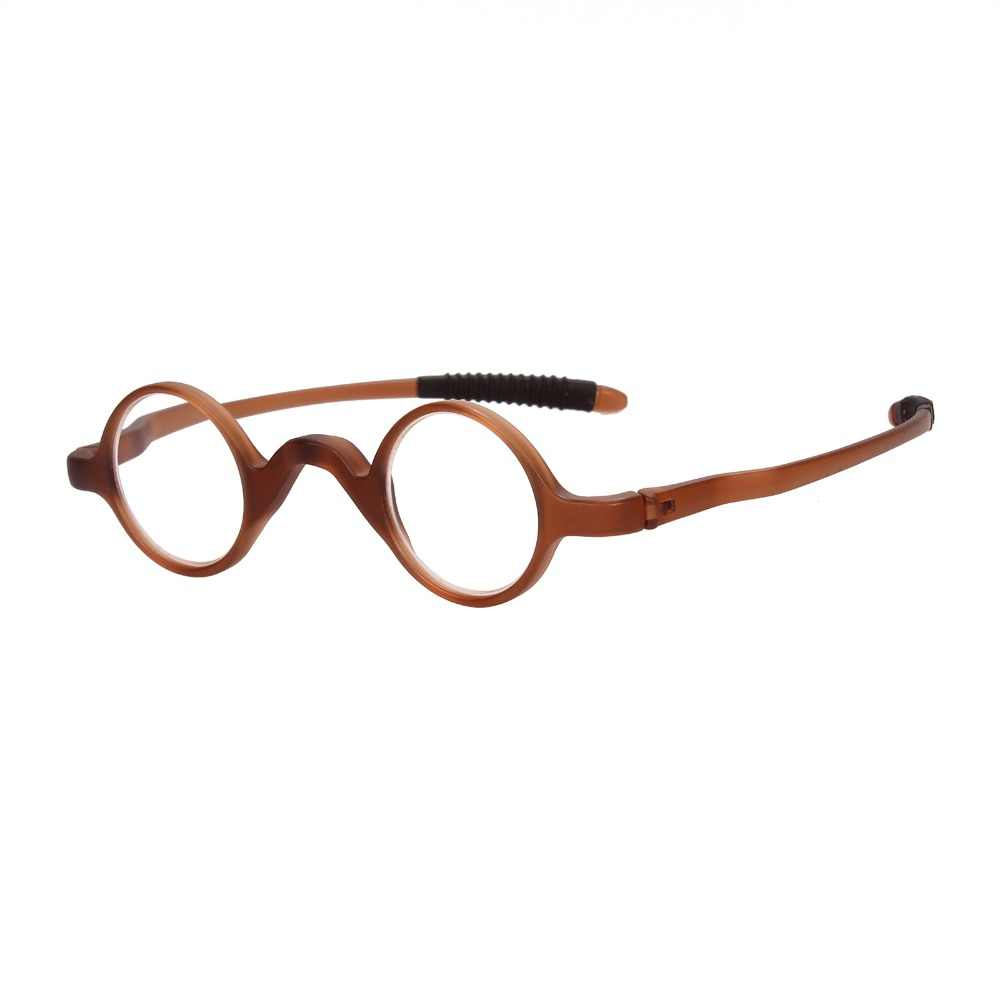bca63187aa Agstum Mens Women TR90 Vintage Small Round Oval Reading Glasses Readers 1.0  1.5 2.0 2.5 3.0