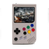 3.5 inch LCL Pi Handheld Arcade Retro Video Game Console For Game Boy Console Raspberry Pi 3 A+ Game Player Built in 6000 Games