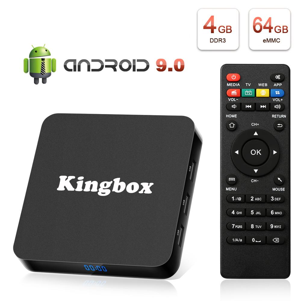 Android 9.0 Smart TV BOX asystenta Google RK3228 4G 64G Odbiornik TV 4K Wifi Media player sklepu Play wolne aplikacje Fast Set top BoxDekodery STB   -