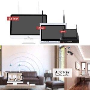 Image 3 - ANRAN 3MP 4CH система камер домашней безопасности Водонепроницаемый открытый Ночное видение IP Wi Fi камера с 15 дюймовым монитором 1 ТБ HDD NVR Наборы