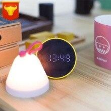 Stylepie style multi-function flip light, touch shot alarm clock, night light hand warm atmosphere lamp clock