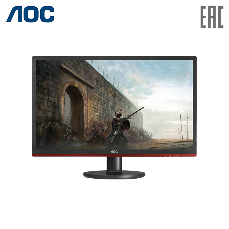 Monitor 21.5 AOC G2260VWQ6 Black-Red (LED, 1920x1080, 1 ms, 170/160, 250 cd/m, 20M:1, +HDMI, +DisplayPort) displayport 1 1 male to hdmi 1 3 female adapter w audio black