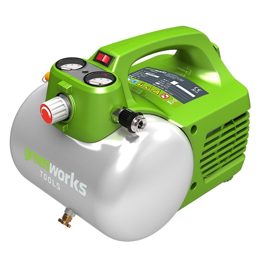 Air compressor Greenworks GAC6L male thread 3 way metal air compressor check valve gold tone new drop ship