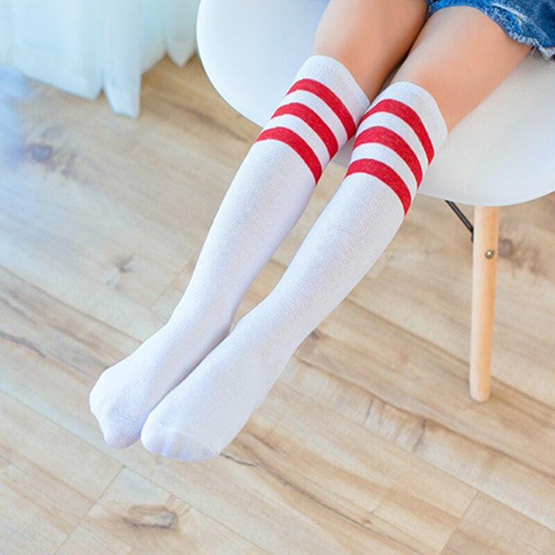 5 pair 2018 Long Boot Fashion kidss Stockings For Dance Girlss Stockings Thigh High Knee Socks Long Stocks Cheerleader