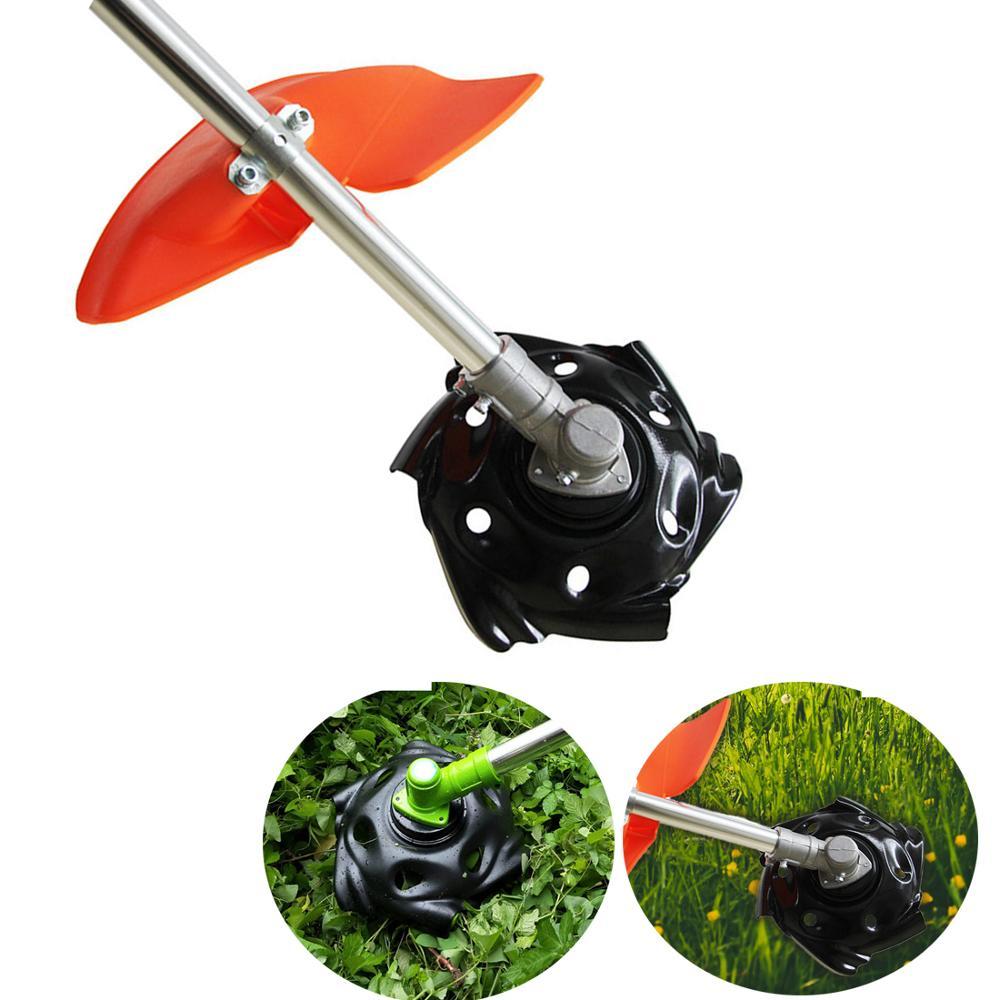 Metal Grass Mowing Lawnmower Tray Trimmer Head Machine Accessories Garden Power Tool Lawn Mower Parts Black Green