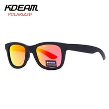 KDEAM Couple Sunglasses Women Brand Design Classical Polariz