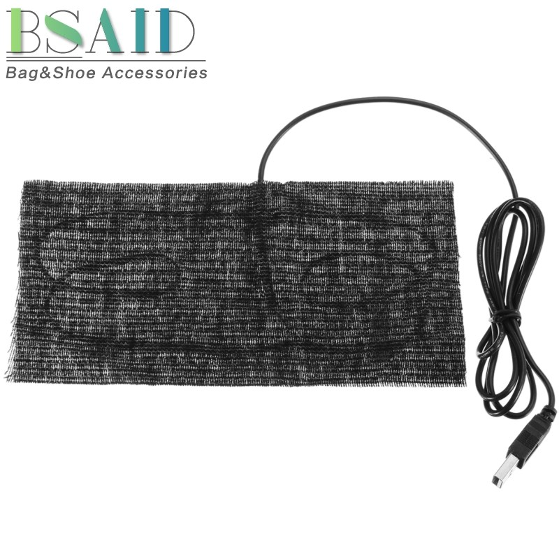 BSAID 5V USB Electric Cloth Heater Pad, USB Thermal Heating Pad Element for Insoles Pet Warmer For Winter, Men Women Heated Pads 5v usb electric clothes heater sheet adjustable temperature winter heated gloves for cloth pet heating pad waist warmer tablet