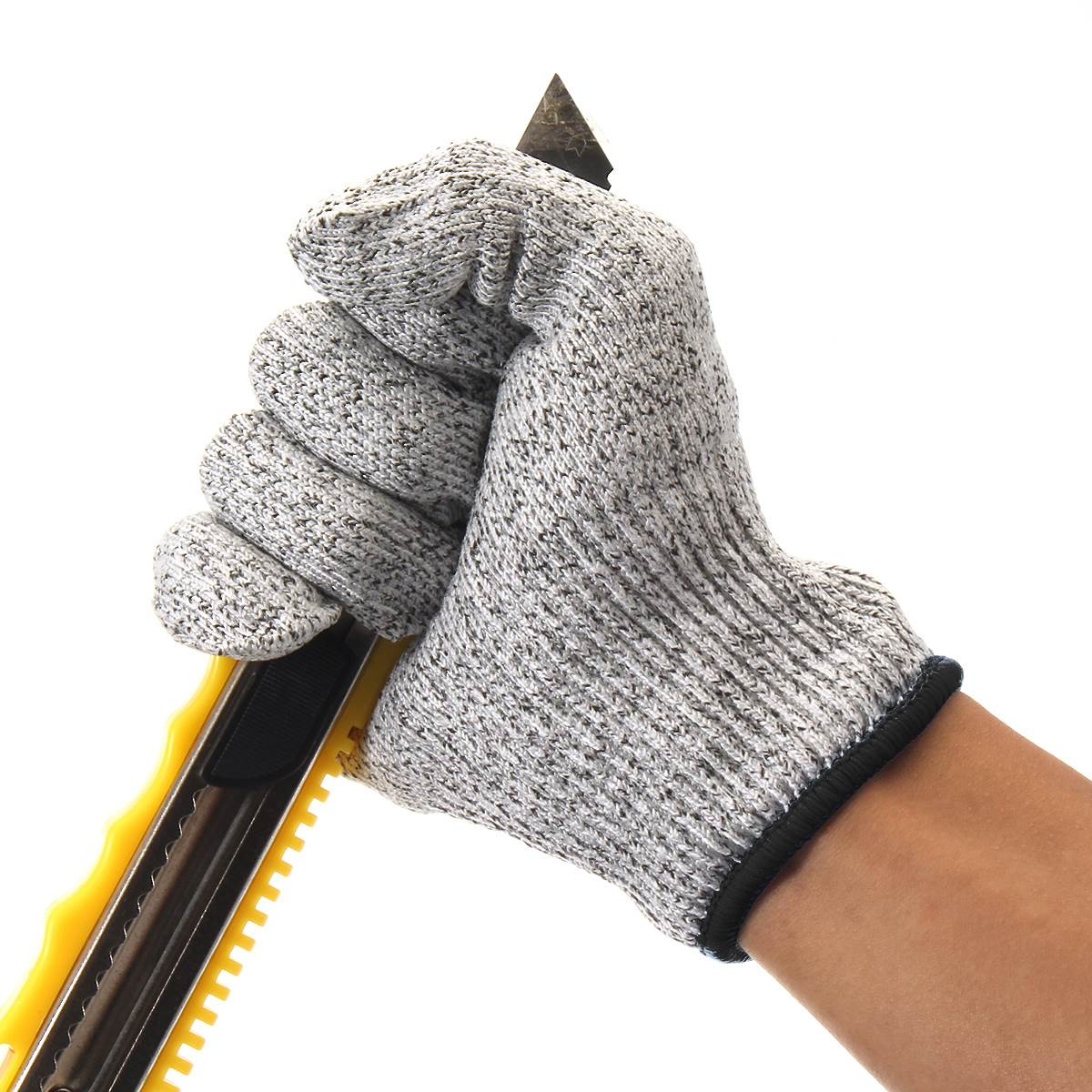 Safurance Safety Cut Proof Stab Resistant Stainless Steel Wire Metal Mesh Butcher Gloves Cut-Resistant Working Safety 1pcs safety gloves cut proof stab resistant stainless steel wire metal mesh butcher anti knife