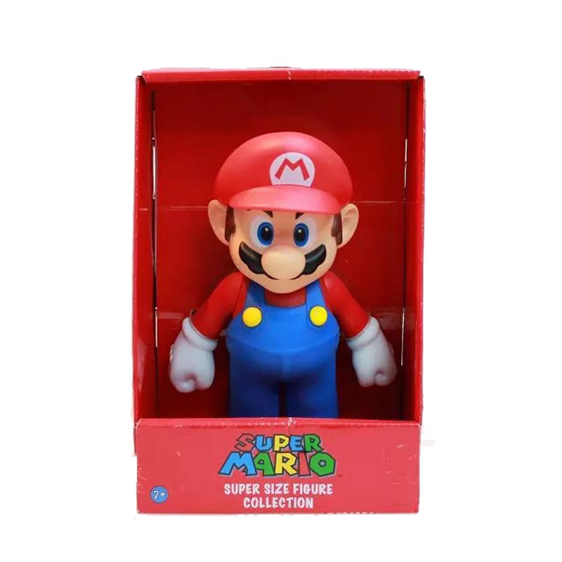 23cm 4 styles Super Mario Bros Luigi Mario Yoshi PVC Action Figures Collection Toy Doll 9 New in box