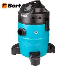 Пылесос универсальный Bort BSS-1335-Pro (1400 Вт, 35 л. вместимость пылесборника, для сухой и влажной уборки, сила всасывания 280 Вт, возможность подключения электроинструмента)