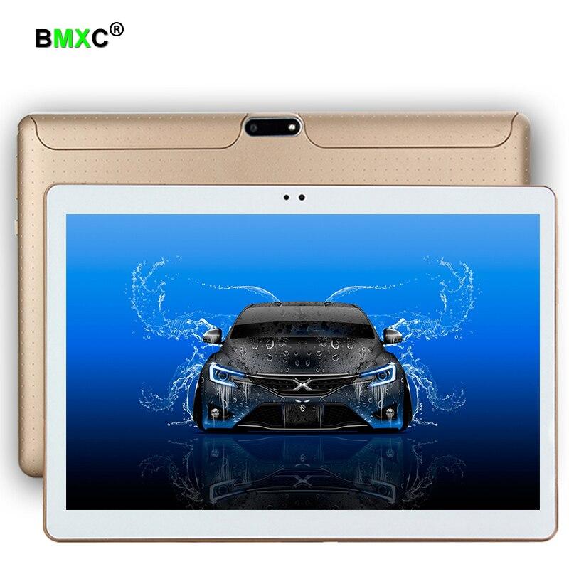 BMXC 10.1 pouce téléphone Android 6.0 Double OS 1280*800 MTK6592 Octa Core 4 GB 64 GB Tablet PC 5.0MP Bluetooth Double SIM Carte Camere FM